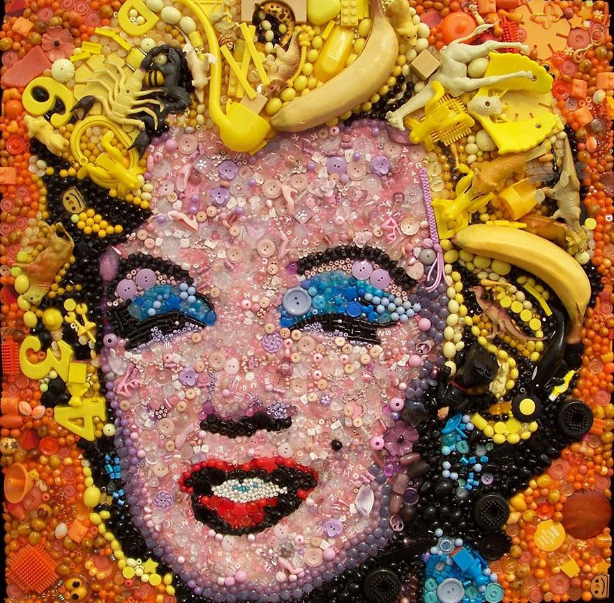 Уникальная картина с изображением Мерлин Монро