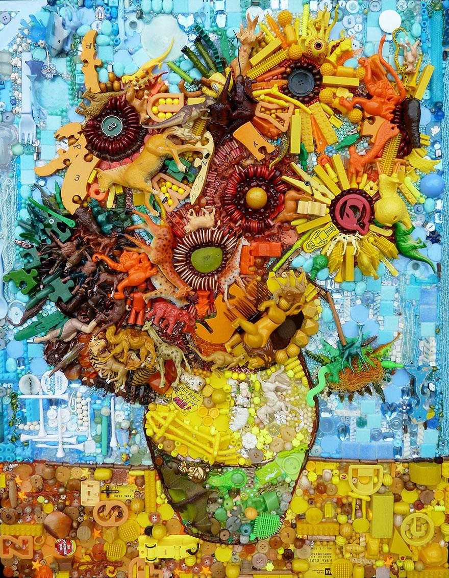 Чудесная картина с изображением вазы с цветами