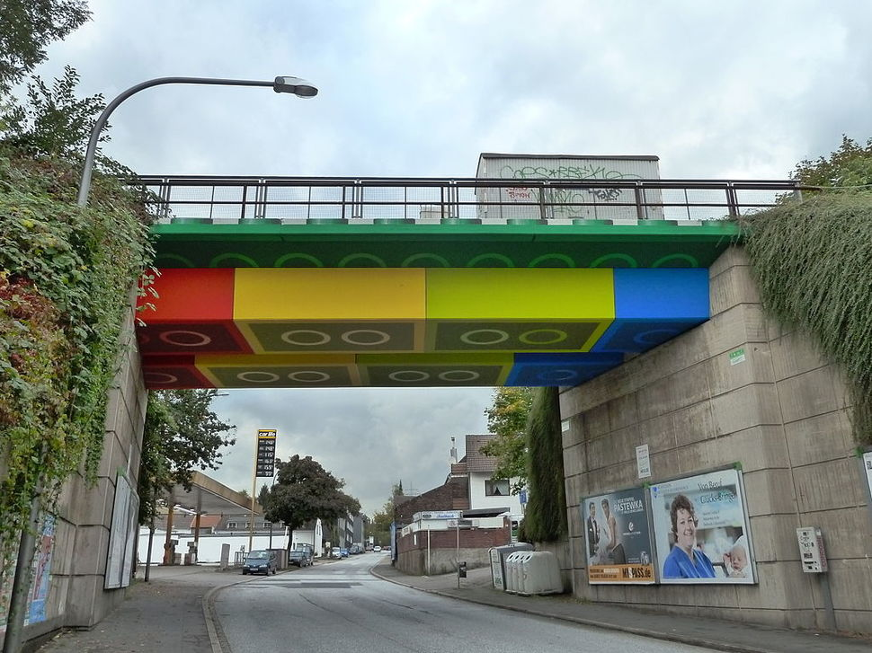 Виадук LEGO Bridge от Martin Heuwold