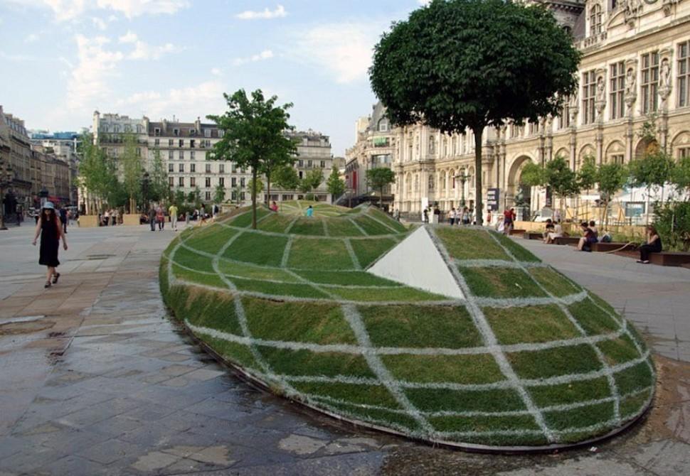 Парижский Глобус-парк от Francois Abelanet