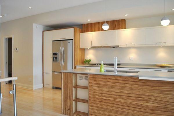 Белая кухонная мебель