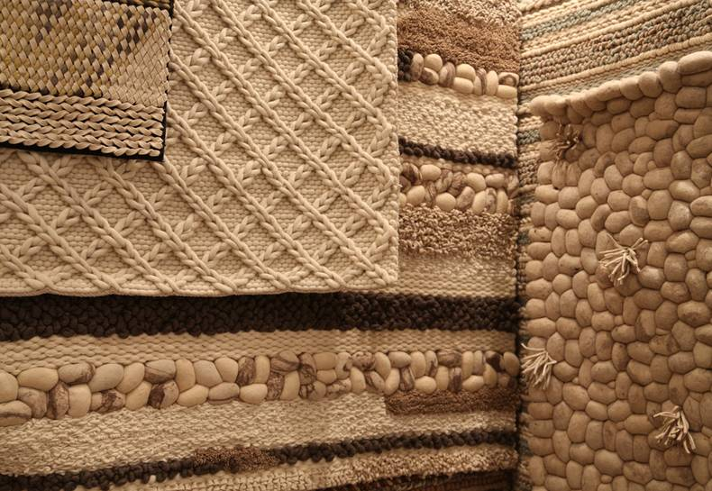Устойчивый дизайн: ковры из войлока