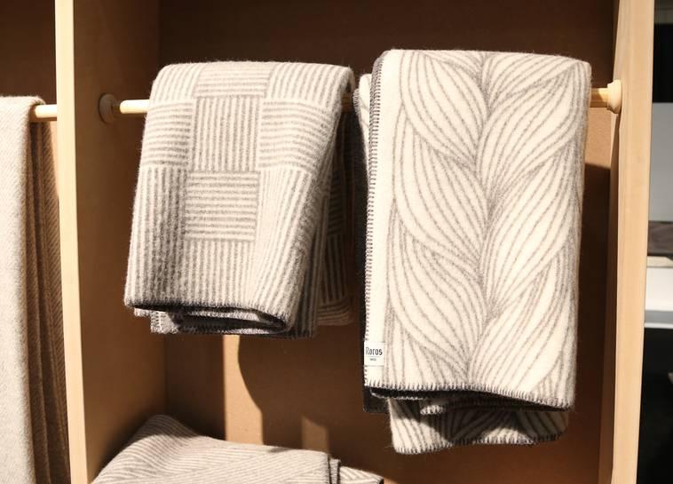 Устойчивый дизайн: твидовые одеяла