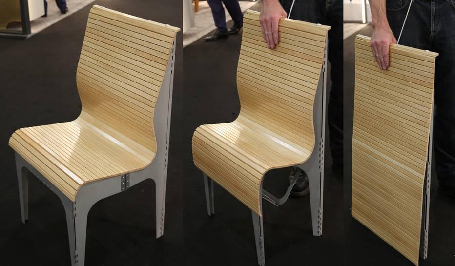 Устойчивый дизайн: стул трансформер
