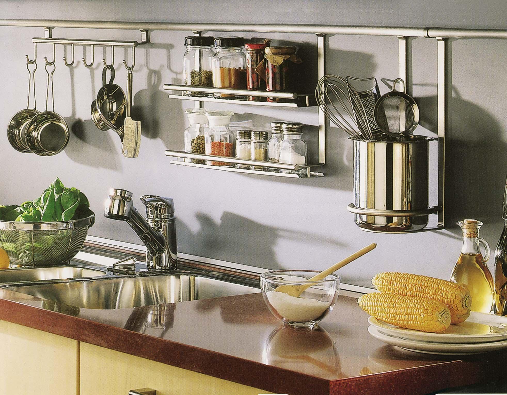 Рабочая кухонная зона