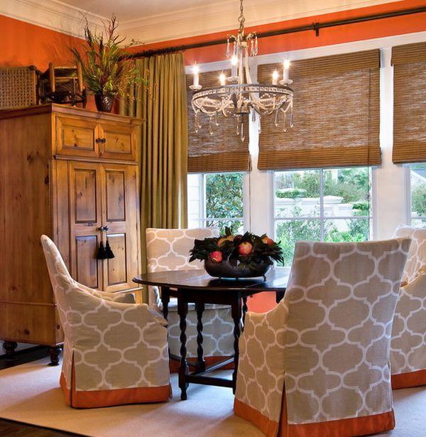 Чехлы для мебели в столовой