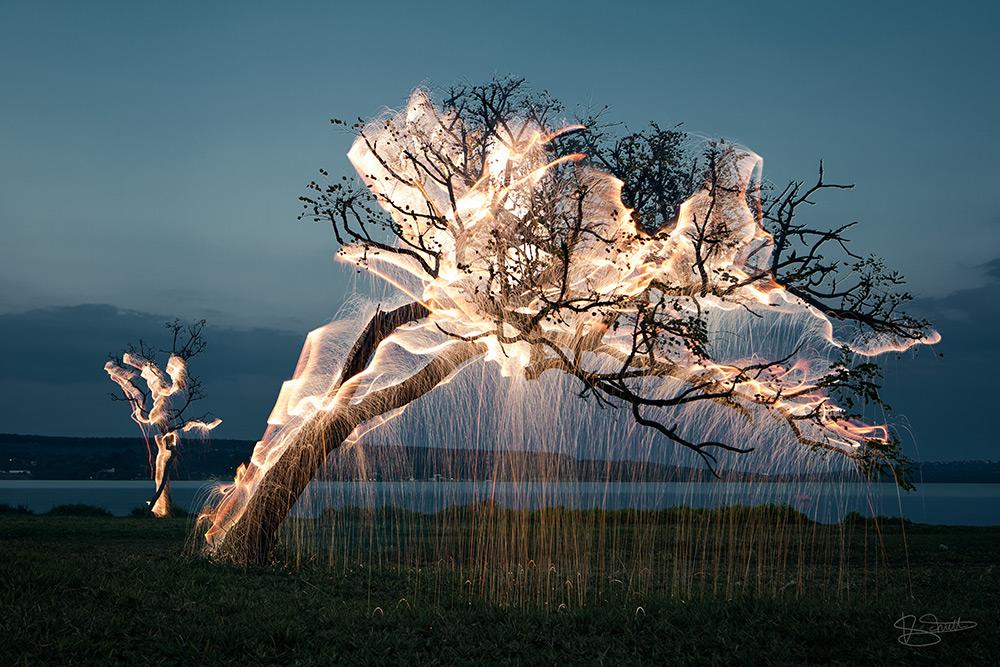 Снимок из коллекции «Непостоянные скульптуры» от Витора Шиетти