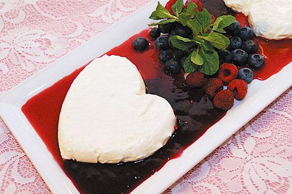 Элегантный десерт на День Святого Валентина