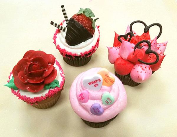 Милые кексы для друзей-сладкоежек