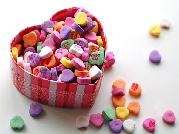 Вкусные и модные сладости ко Дню Всех Влюбленных