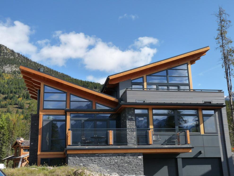 при желании разноуровневые крыши частного дома фото уже для многих