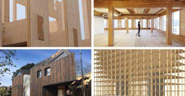Примеры деревянных конструкций