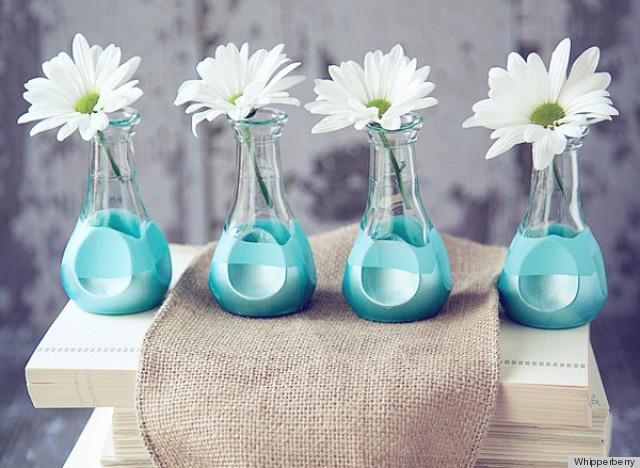 Необычная ваза для красивого букета