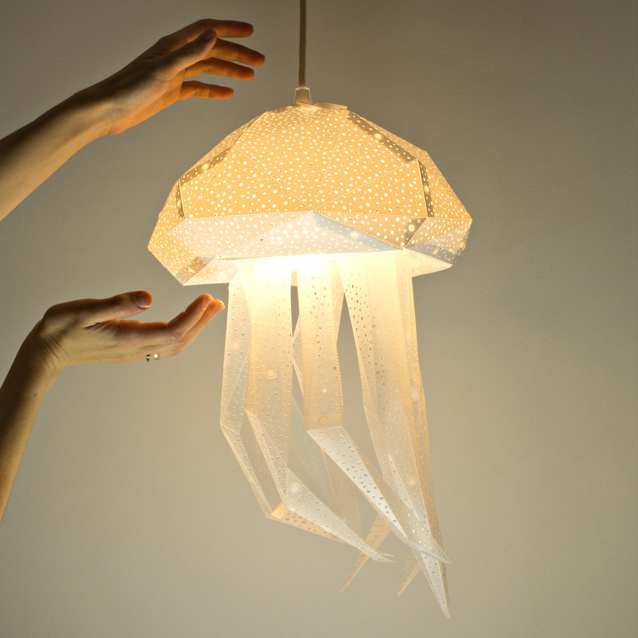 Абажур из бумаги своими руками оригами