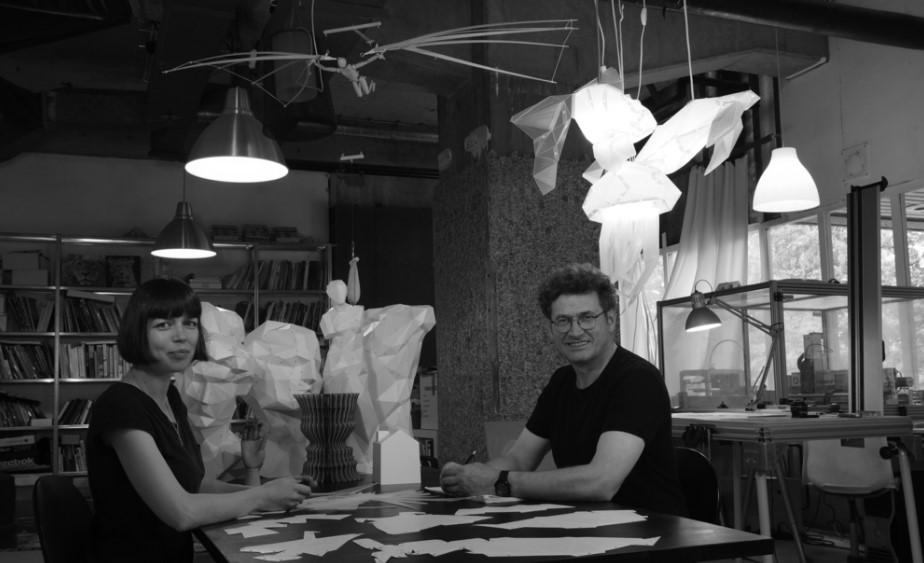 Элегантные абажуры из бумаги от студии VasiliLights