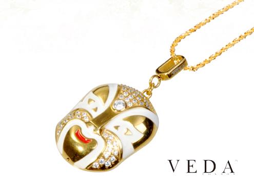 Ювелирная флешка Veda в форме маски
