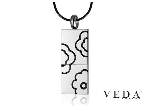 Ювелирная флешка Veda с цветами