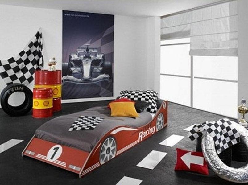 Kinderzimmer gestalten mit autobett