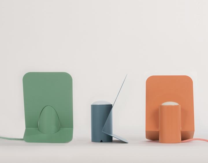 Красивые настольные лампы Vela от Mario Alessiani