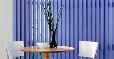 vertical blinds in the interior-10