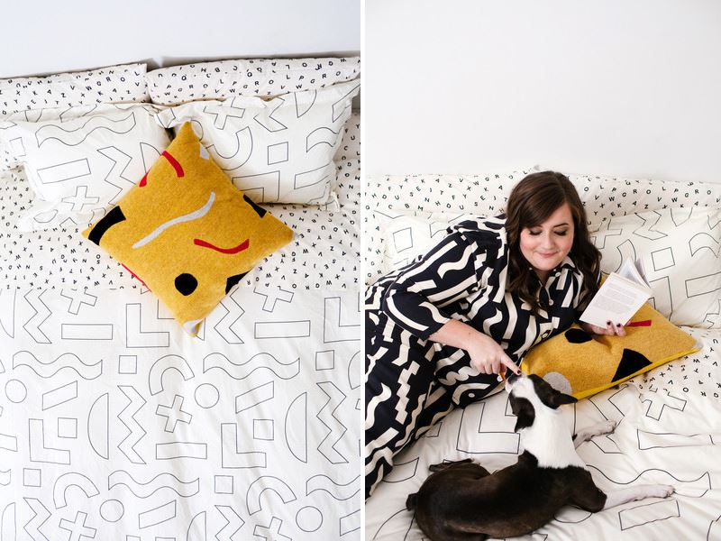 Абстрактный декор постельного белья от Dusen Dusen