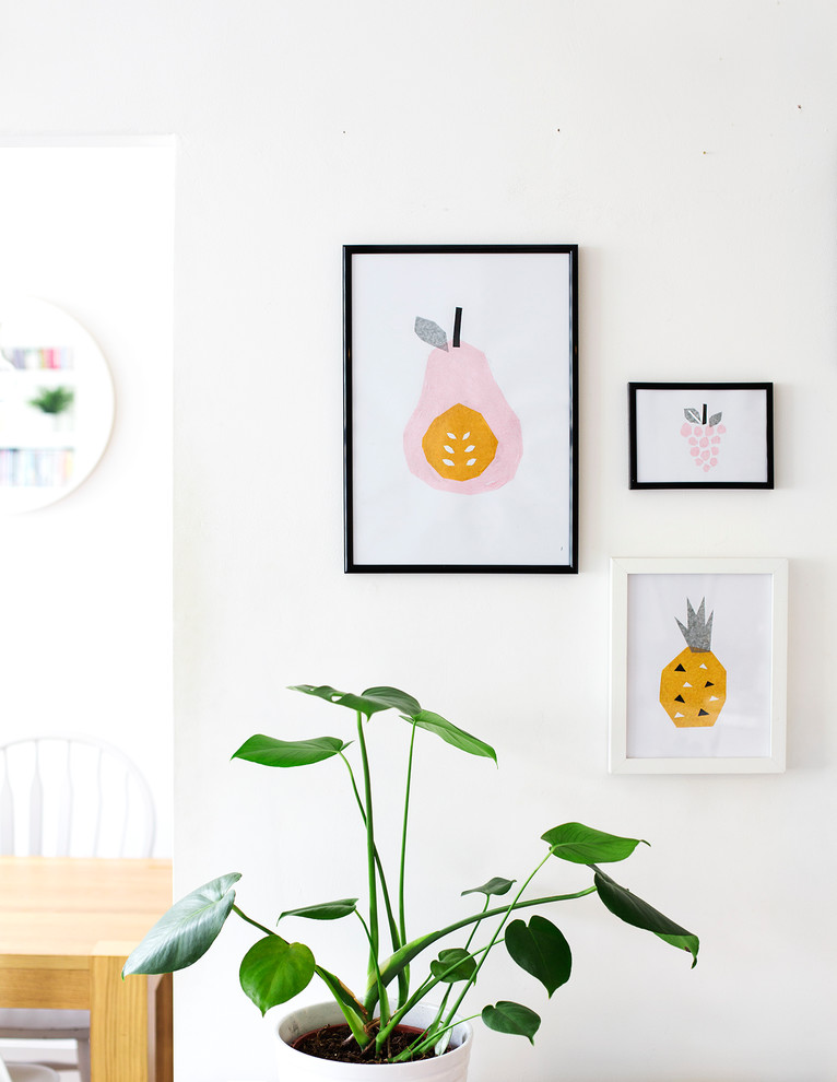 Оригинальные картины своими руками на стене в интерьере