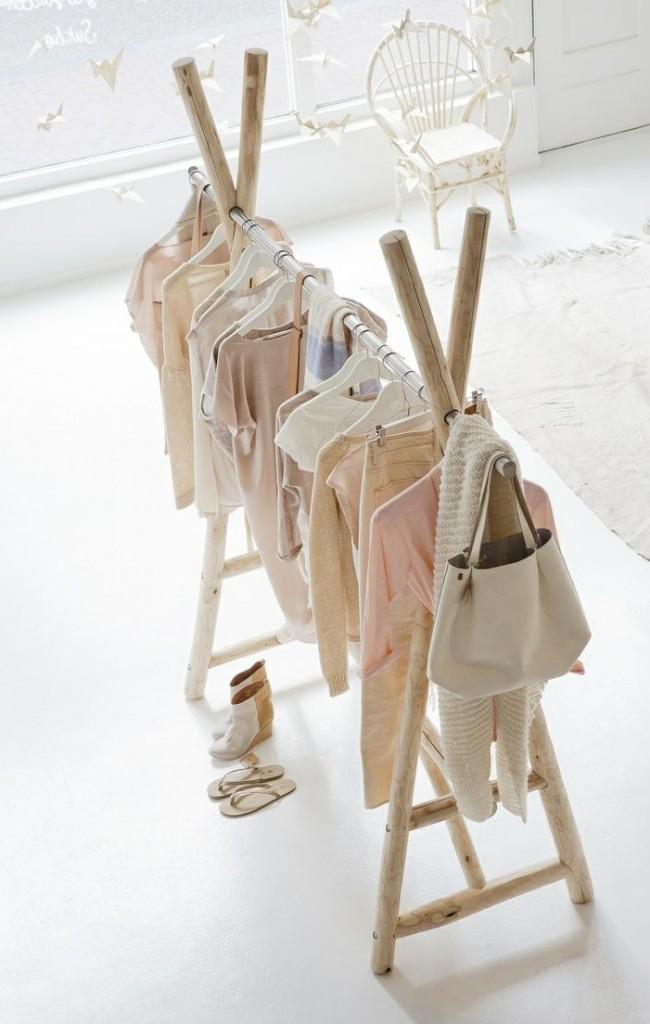 Вешалка для детской одежды напольная своими руками