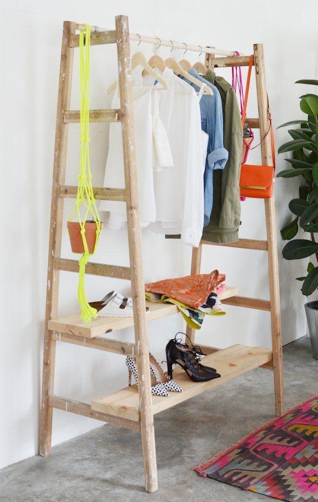 Вешалки для одежды своими руками фото