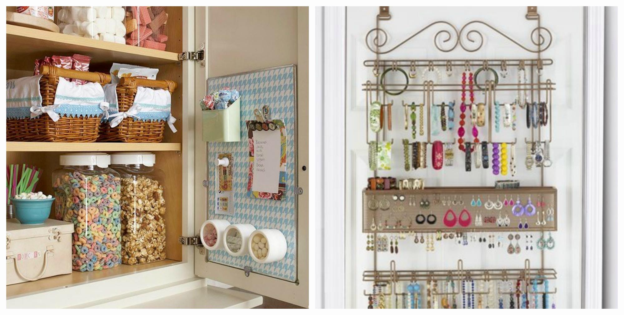 Разнообразные вешалки на дверь