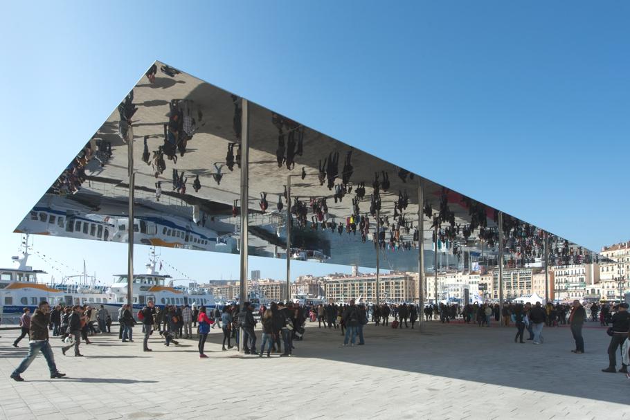 Реконструкция Старого Порта, павильон Port Vieux