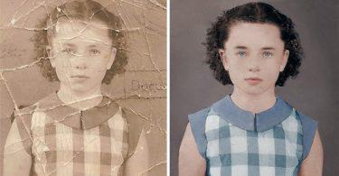 Реставрация фотографии: кадр из видео от Хоакина Вильяверде