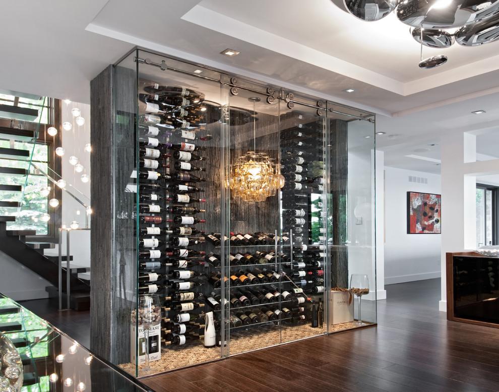 Современный винный шкаф