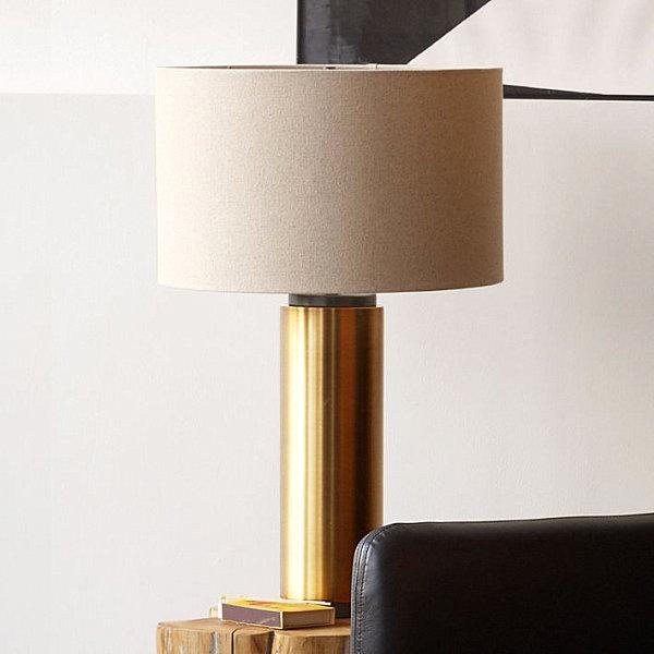 Латунная настольная лампа