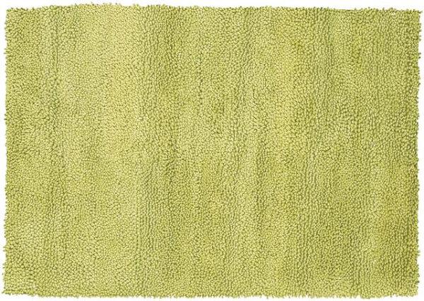 Пушистый зелёно-жёлтый ковёр