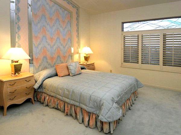 Высококлассные проекты спальни в стиле вестерн