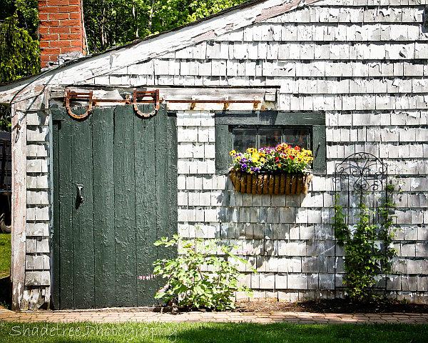 Старинное украшение сельского дома