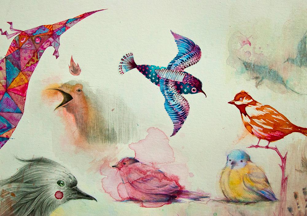 Борха Санчес: комические сюжетные иллюстрации сюрреалистических историй