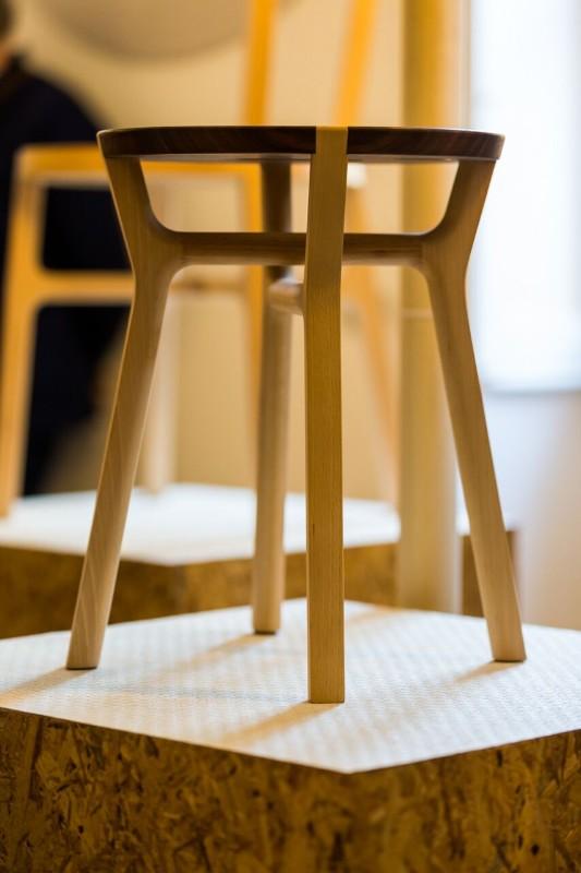 Всемирно известный дизайнер Джулио Йакетти: табурет