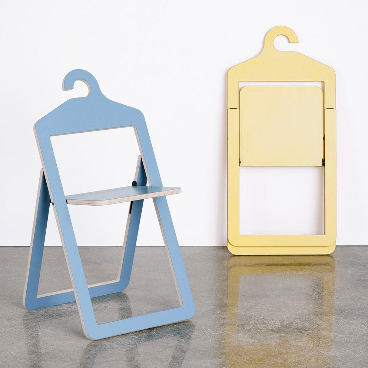 Всемирно известный дизайнер Филипп Малуин - дизайн стула-вешалки