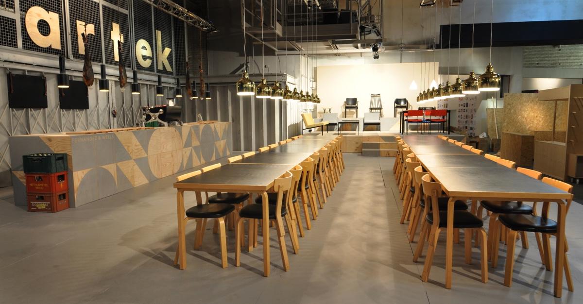Всемирно известный дизайнер Филипп Малуин - оформление столовой