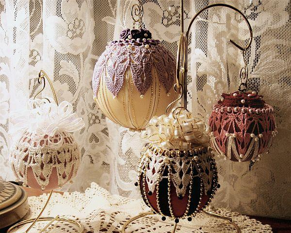 Вязаные украшения к Новому году - Фото 2