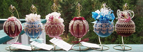 Вязаные украшения к Новому году - Фото 3