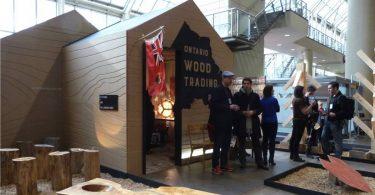 Специфическая выставка дизайна интерьеров: стильные изделия из дерева