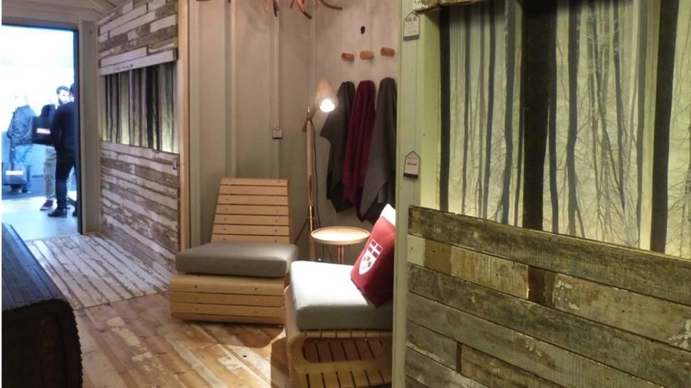Изделия из дерева на выставке дизайна интерьеров - Фото 1