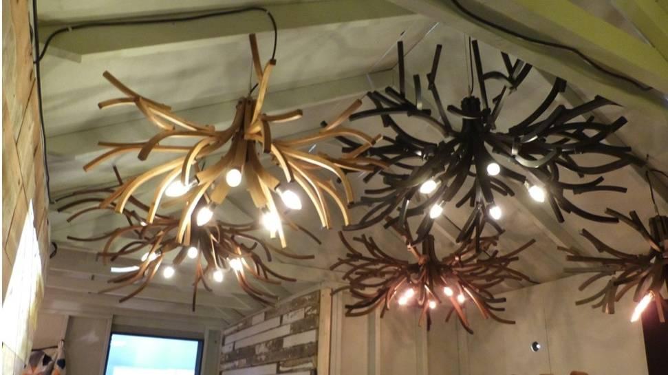 Изделия из дерева на выставке дизайна интерьеров - Фото 2