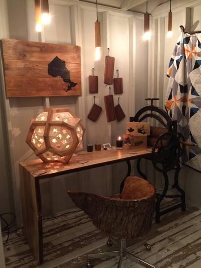 Изделия из дерева на выставке дизайна интерьеров - Фото 6