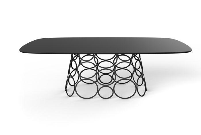 Выставка дизайнерской мебели: журнальный столик со стеклянной столешницей - Фото 2