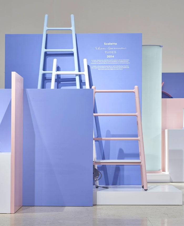 Выставка интерьера и дизайна в Милане: лестницы-радиаторы