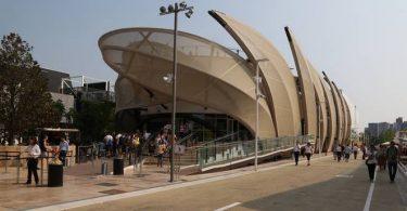 Выставка павильонов в Милане