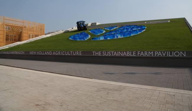 Выставка павильонов New Holland Agriculture в Милане